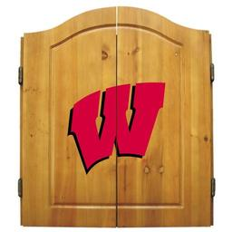 Click here to learn more about the University of Wisconsin Badgers NCAA Dart Cabinet With Darts and Dartboard.