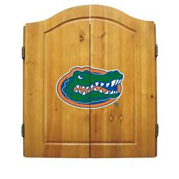 Click here to learn more about the Universtiy of Florida NCAA Dart Cabinet With Darts and Dartboard.