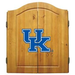 Click here to learn more about the Universtiy of Kentucky NCAA Dart Cabinet With Darts and Dartboard.