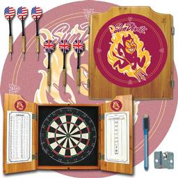 Click here to learn more about the Arizona State University Dart Cabinet Including Darts and Dart Board.