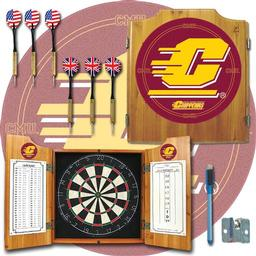 Click here to learn more about the Central Michigan University Dart Cabinet Including Darts and Dart Board.