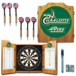 Click here to learn more about the University of North Carolina Charlotte Dart Cabinet with Darts and Dart Board.