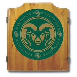 Click here to learn more about the Colorado State University Dart Cabinet Including Darts and Dart Board.