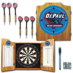 Click here to learn more about the DePaul University Dart Cabinet Including Darts and Dart Board.
