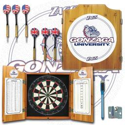 Click here to learn more about the Gonzaga University Dart Cabinet Including Darts and Dart Board.