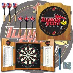 Click here to learn more about the Illinois State University Dart Cabinet Including Darts and Dart Board.