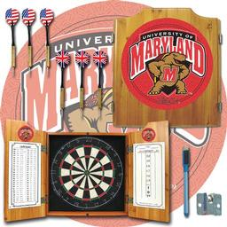 Click here to learn more about the Maryland University Dart Cabinet Including Darts and Dart Board.