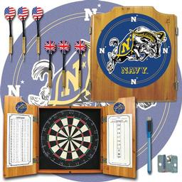 Click here to learn more about the United States Naval Academy Dart Cabinet Including Darts and Dart Board.
