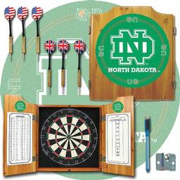 Click here to learn more about the University of North Dakota Dart Cabinet Including Darts and Dart Board.