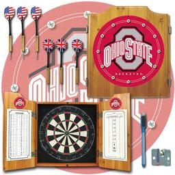 Click here to learn more about the Ohio State University Dart Cabinet Including Darts and Dart Board.