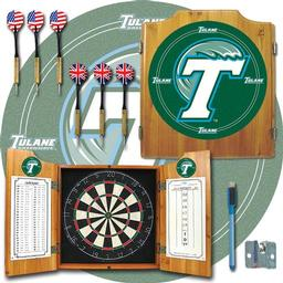 Click here to learn more about the Tulane University Dart Cabinet Including Darts and Dart Board.