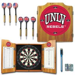 Click here to learn more about the UNLV Rebels Dart Cabinet Including Darts and Dart Board.
