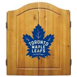 Click here to learn more about the Toronto Maple Leafs NHL Dart Cabinet Set .