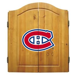 Click here to learn more about the Montreal Canadiens  NHL Dart Cabinet Set .
