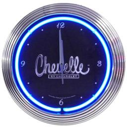 Click here to learn more about the Chevelle Neon Clock.