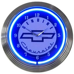 Click here to learn more about the GM Genuine Chevy Neon Clock.