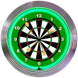 Click here to learn more about the Darts Neon Clock.