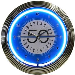 Click here to learn more about the Ford Thunderbird Neon Clock.