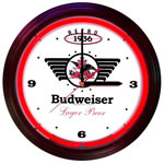 Click here to learn more about the Budweiser 1936 Retro Neon Clock.