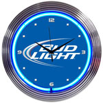 Click here to learn more about the Bud Light Neon Clock.