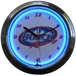 Click here to learn more about the Busch Racing Neon Clock.