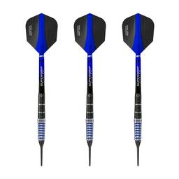 Click here to learn more about the Harrows Cobalt 90% Tungsten Soft Tip Darts 18 Gram.