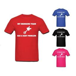 Click here to learn more about the My Drinking Team Has A Dart Problem T-Shirt.