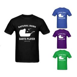 Click here to learn more about the Natural Born Darts Player T-Shirt.