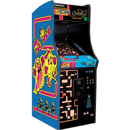 Click here to learn more about the Chicago Gaming Ms Pac-Man / Galaga.