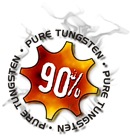 90% Pure Tungsten Darts