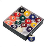 Billiards Christmas Ball Ornament Set